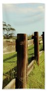 Sitting On The Fence Hand Towel
