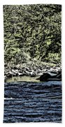 Six Mile Creek Ithaca Ny Bath Towel
