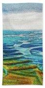 Skaftafell Floodplain Bath Towel