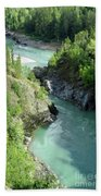 Bulkley River Canyon Bath Towel