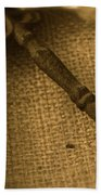 Skeleton Key Bath Towel by Ann E Robson