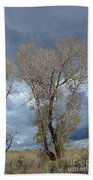 Skeleton Trees Bath Towel
