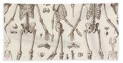 Skeletons Bath Towel