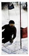 Ski Racer 2 Bath Towel