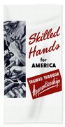 Skilled Hands For America Hand Towel