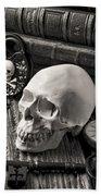 Skull And Skeleton Key Bath Towel
