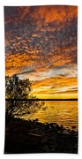 Sky Afire Bath Towel