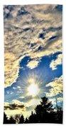 Sky Opens Bath Towel