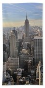 Skyline New York City  Hand Towel