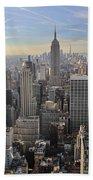 Skyline New York City  Bath Towel