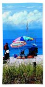 Slice Of Venice Beach Bath Towel