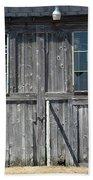 Sliding Barn Doors With Windows Bath Towel