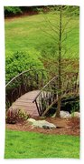 Small Arched Bridge Hand Towel
