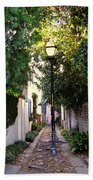 Small Lane In Charleston Bath Towel