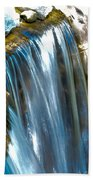 Small Stop Motion Waterfall Hand Towel