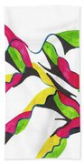 Small Waves Hand Towel