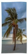 Smathers Beach Coconut Sunset Bath Towel