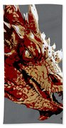 Smaug The Unassessably Wealthy Hand Towel