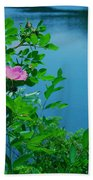 Smell The Roses Bath Towel