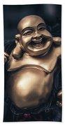 Smiling Buddha Bath Towel