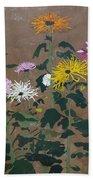Smith's Giant Chrysanthemums Bath Towel