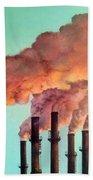 Smog Industrial II Bath Towel