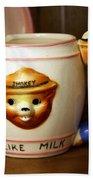 Smokey The Bear Mug Bath Towel