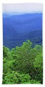 Smoky Mountain National Park Bath Towel