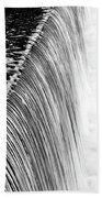 Smooth Cascade Bath Towel by Valeria Donaldson