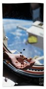 Snacking In Space Bath Towel
