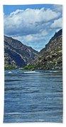 Snake River Hells Canyon Bath Towel