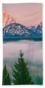 Snake River Overlook - Grand Teton National Park Bath Towel