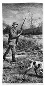 Snipe Hunters, 1886 Bath Towel