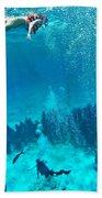 Snorkeling  Bath Towel