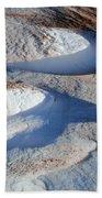 Snow And Sand Bath Towel
