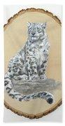 Snow Leopard - Renewed Perception Bath Sheet