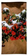 Snowberries Bath Towel