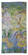 Snowdrop The Fairy And Friends Bath Towel