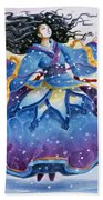 Snowfall Bath Towel