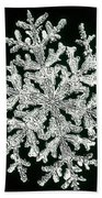 snowflake I Bath Towel