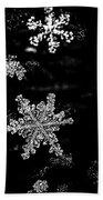 Snowflake Jewels Bath Towel
