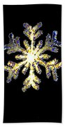Snowflakes Bath Towel