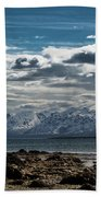 Snowy Mountains Hand Towel