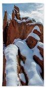 Snowy Ridge Bath Towel