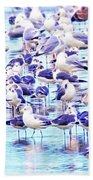 So Many Birds Bath Towel