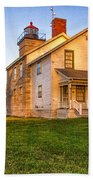 Sodus Point Lighthouse And Museum Bath Towel