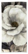 Soft Petals I Bath Towel