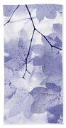 Softness Of Lavender Leaves Bath Towel