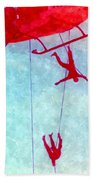 Soldiers In The Sky Bath Towel