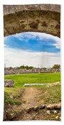 Solin Ancient Arena Old Ruins Bath Towel